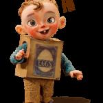 Den Boxtrolls Sticker 4