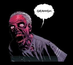 The Walking Dead Sticker 1
