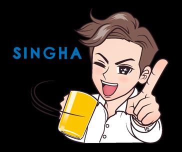 Singha's Life Sticker 7