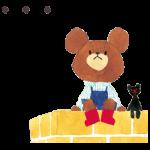 Ведмеді школа наклейки 3
