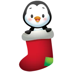 Waddles Holiday Stickers 16