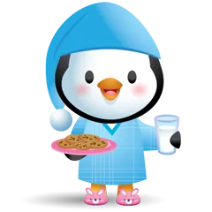Waddles Holiday Stickers 17