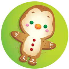 Waddles Holiday Stickers 23