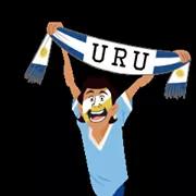Soccer Scarves (G-U) Sticker 23