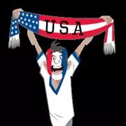 Soccer Scarves (G-U) Sticker 25