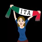 Soccer Scarves (G-U) Sticker 29