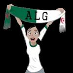 Soccer Scarves (A-F) Sticker 26