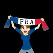 Soccer Scarves (A-F) Sticker 20