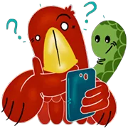 Eagle And Snake Sticker 5