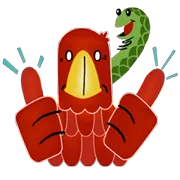Eagle And Snake Sticker 12