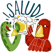 Eagle And Snake Sticker 15