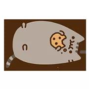 Pusheen Eats Sticker 5
