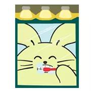 Fat Rabbit Farm Sticker 33