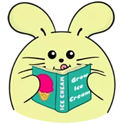 Fat Rabbit Farm Sticker 36