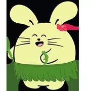 Fat Rabbit Farm Sticker 39