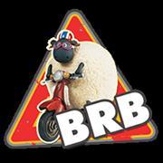 Shaun The Sheep Sticker 2 12