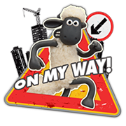 Shaun The Sheep Sticker 2 20