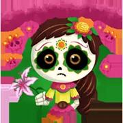 Día De Los Muertoons Sticker 2