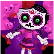 Día De Los Muertoons Sticker 13