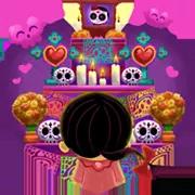 Día De Los Muertoons Sticker 18