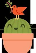 Prickly Pear Sticker 33