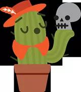 Prickly Pear Sticker 42