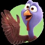 Les aus etiqueta engomada lliure 2