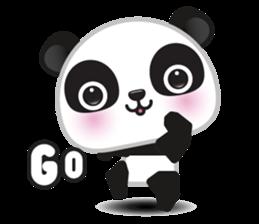Go-Go Panda Sticker 1