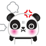 Go-Go Panda Sticker 5