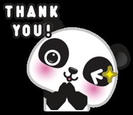 Go-Go Panda Sticker 7