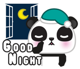 Go-Go Panda Sticker 20