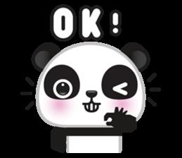 Go-Go Panda Sticker 22