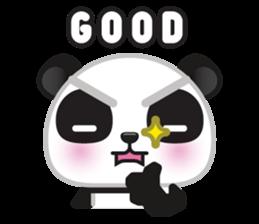Go-Go Panda Sticker 23