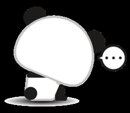 Go-Go Panda Sticker 38