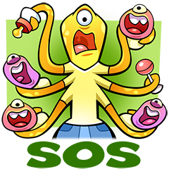 Joys Of Parenthood Stickers 14