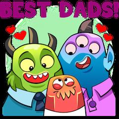 Joys Of Parenthood Stickers 18