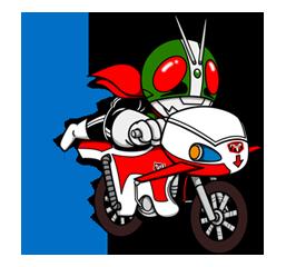 Masked Rider Sticker 38