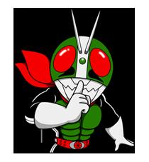 Masked Rider Sticker 4