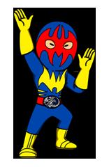 Masked Rider Sticker 9