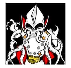 Masked Rider Sticker 12