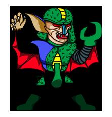Masked Rider Sticker 16