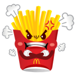 McDonald's Sticker 3