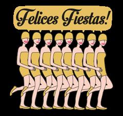 Moderna De Pueblo Christmas Edition Sticker 7