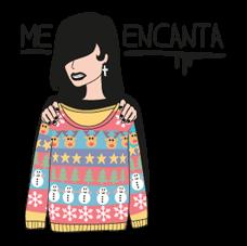 Moderna De Pueblo Christmas Edition Sticker 12