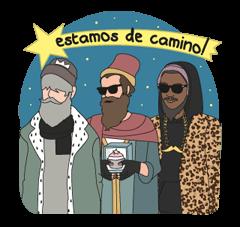 Moderna De Pueblo Christmas Edition Sticker 13