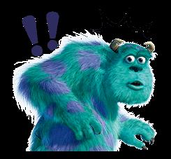 Monsters Inc Sticker 18