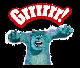 Monsters Inc Sticker 28