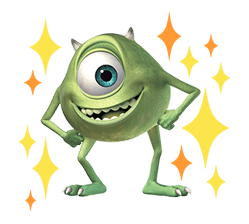 Monsters Inc Sticker 39
