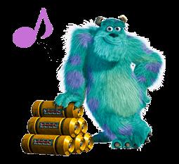 Monsters Inc Sticker 40