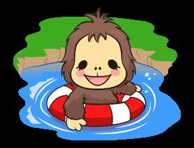 OrangUtan Sticker 16